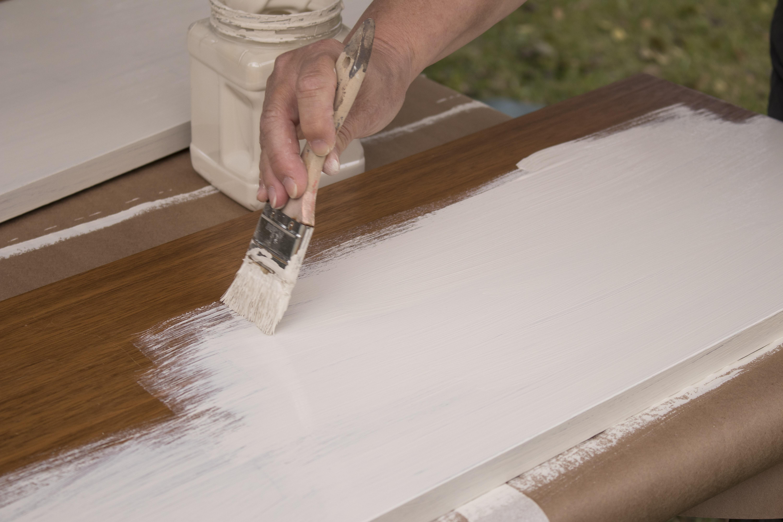 Shelf DIY Chalk Paint Fixer Upper Painting