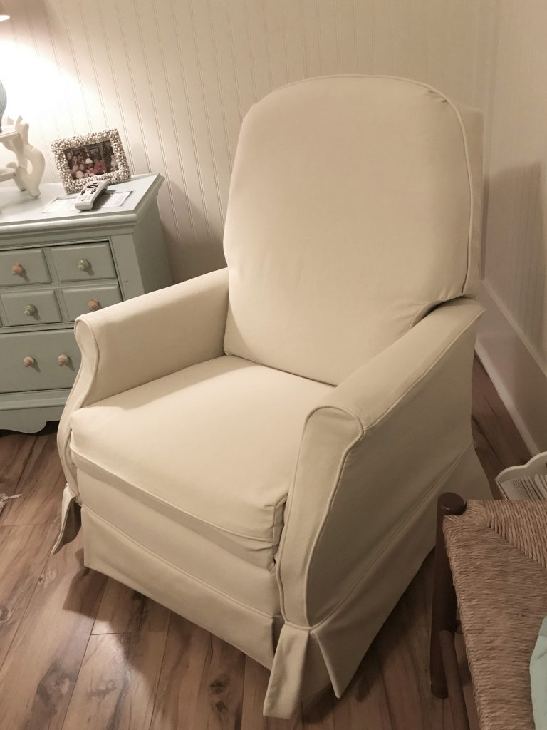 Chair After Slipcovers