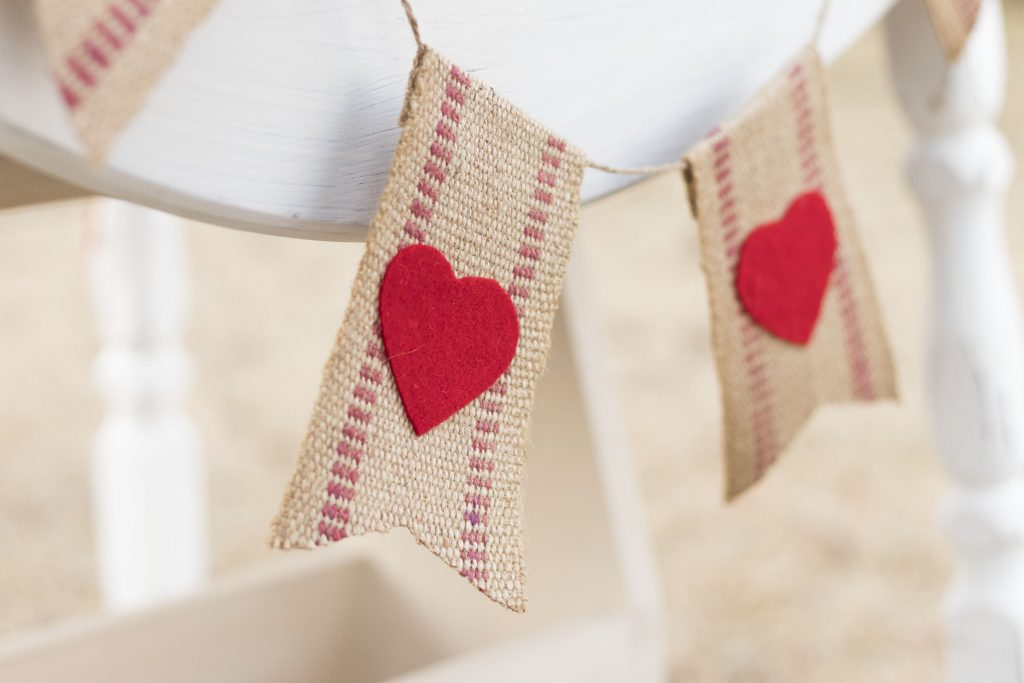 Valentine Bunting Perfection
