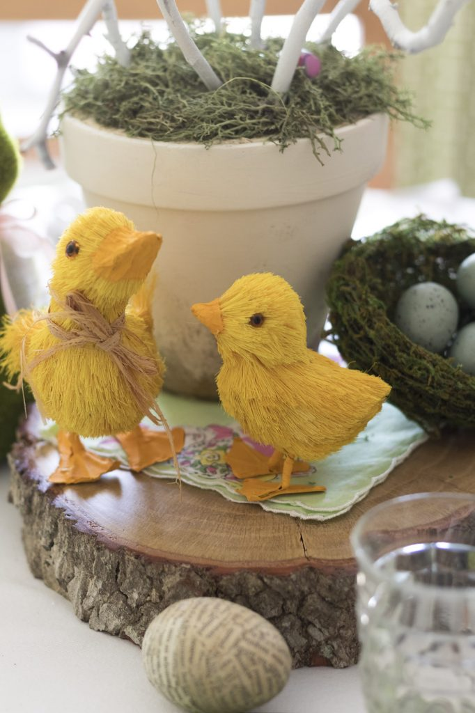 Chick friends, Woodslices, Easter Egg Tree, Kid-Friendly