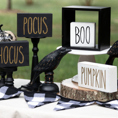 Rae Dunn Inspired Fall Signs