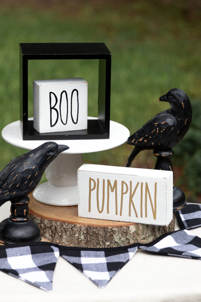 Halloween handmade signs