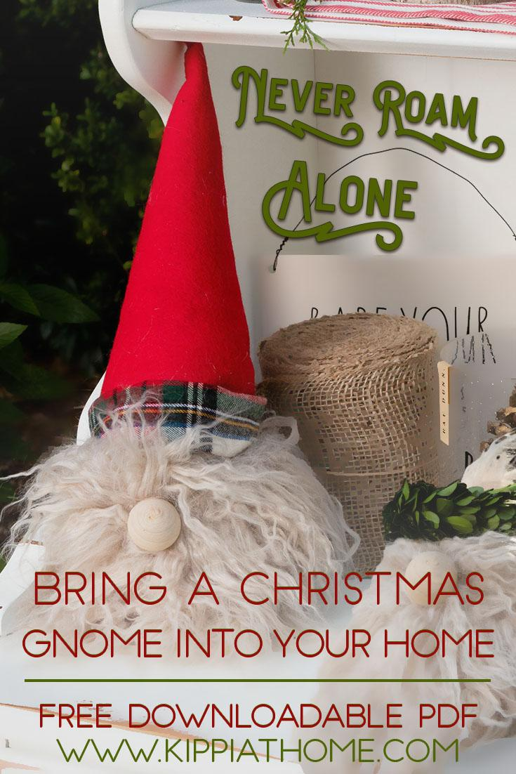 Gnome Pin, Christmas gnome learn to make him