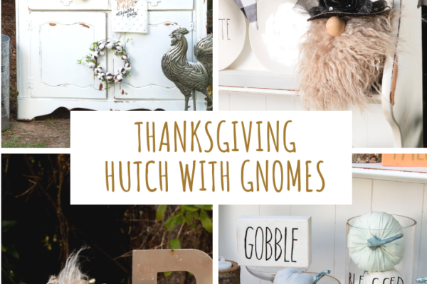 Thanksgiving Hutch Styling