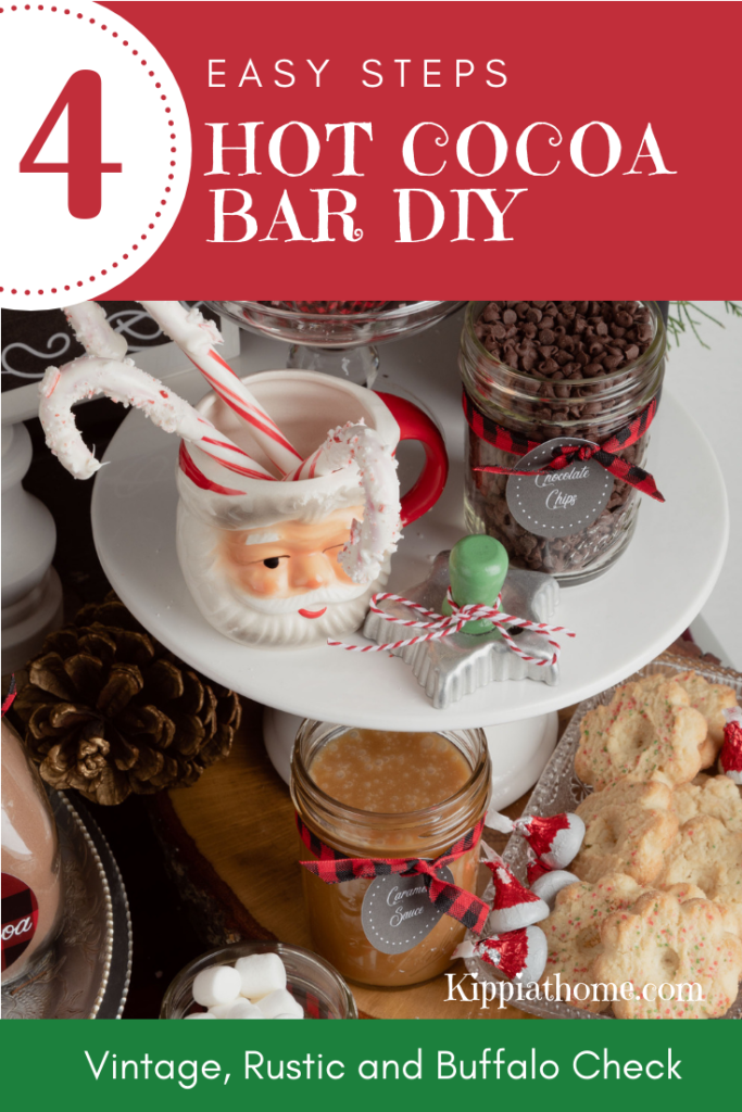 Hot Cocoa Bar for Christmas entertaining