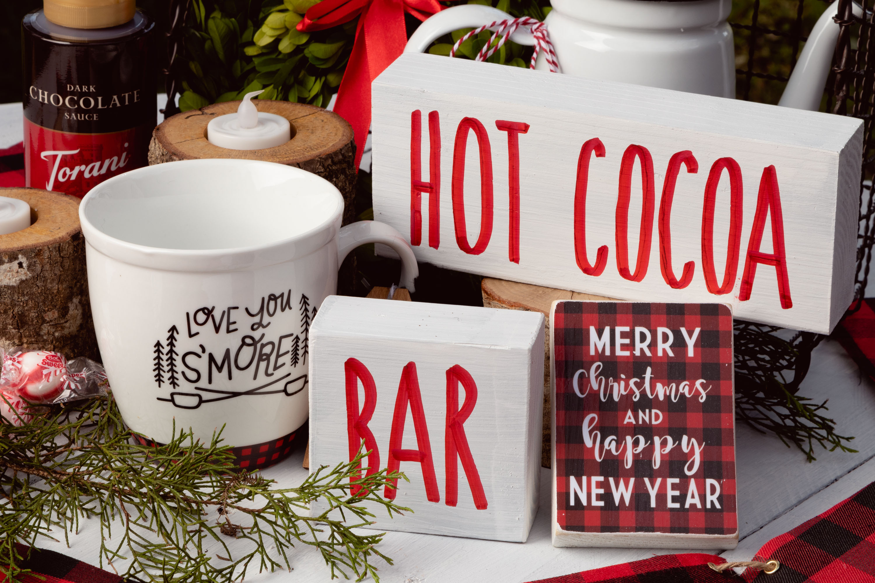 Hot Cocoa Bar Signs