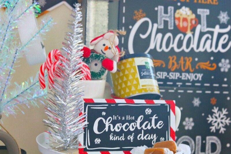 Hot Cocoa Bar Ideas