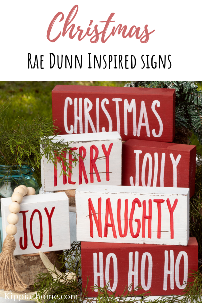 DIY Christmas signs