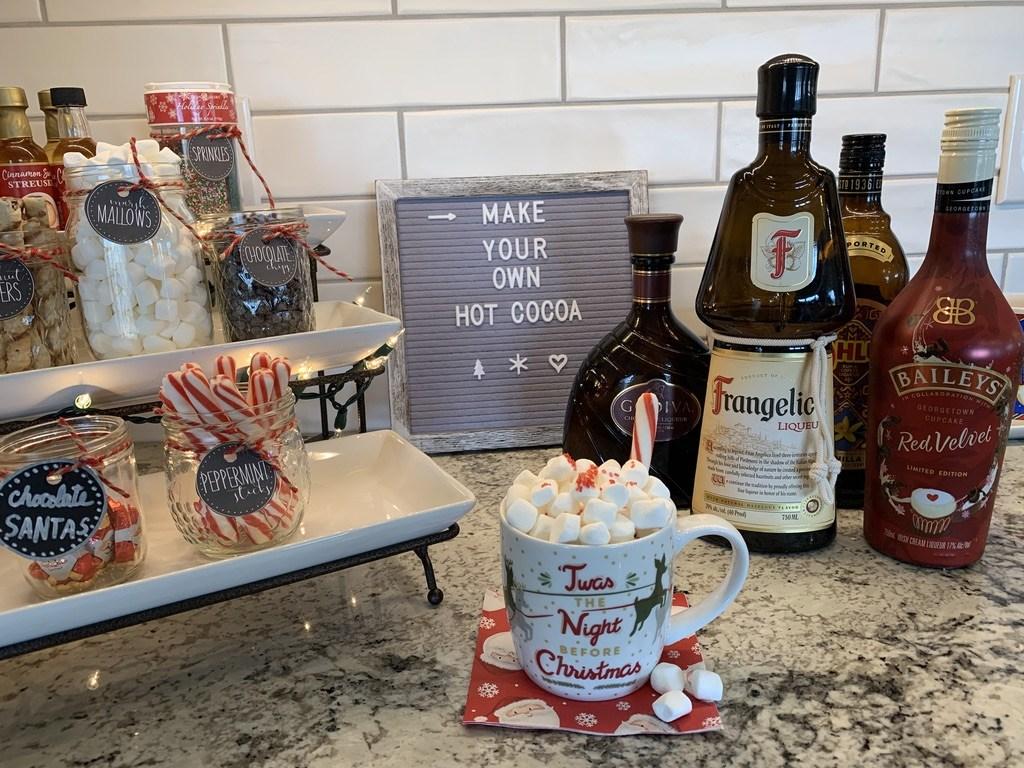Fun Hot Chocolate Bar Idea