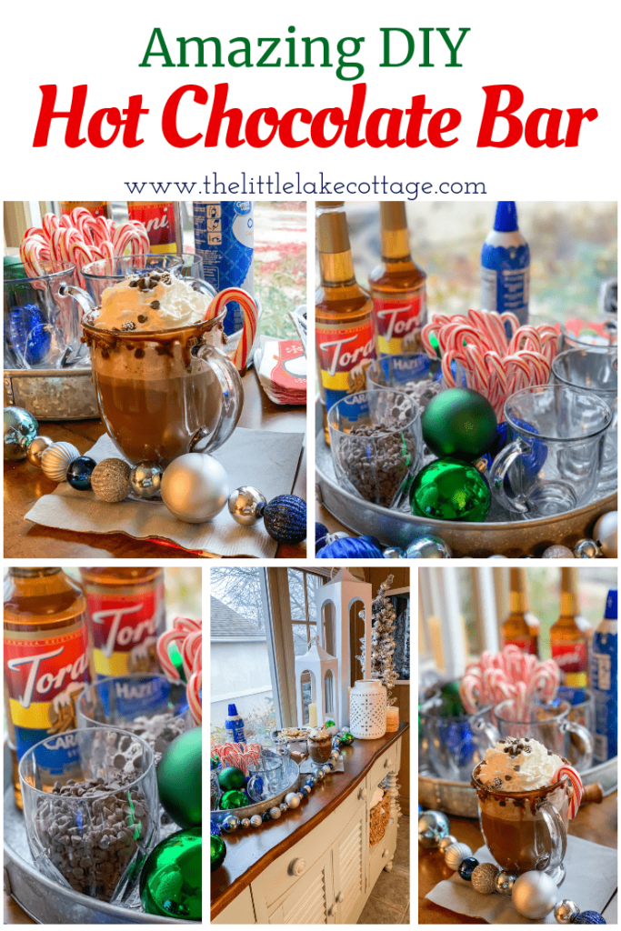 The Little Lake Cottage's Hot Chocolate Bar