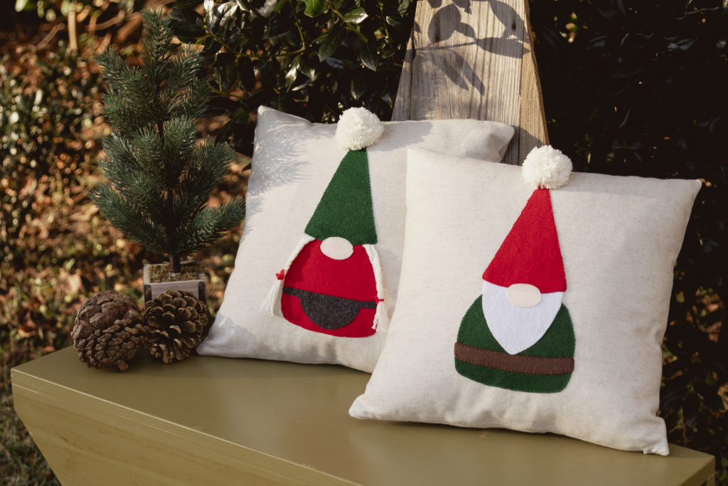 Mr. & Mrs. Gnome Pillows