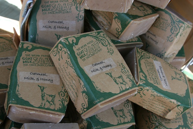 Healing Oatmeal, Milk and Honey Goat Milk Soap