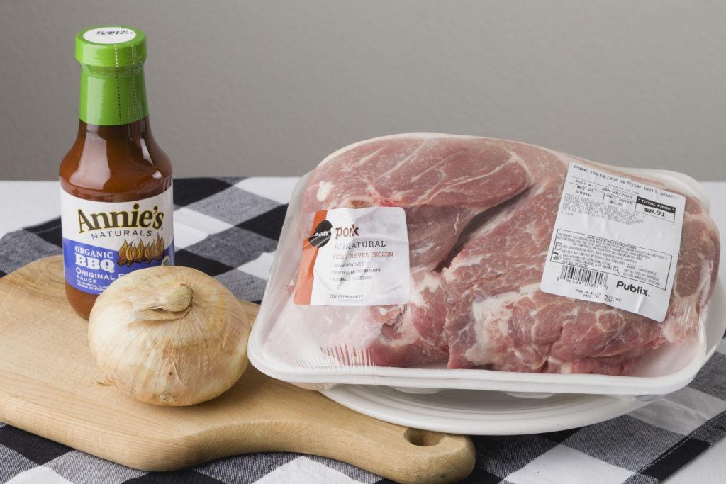 Three Ingredient Pulled Pork, Easiest Make Ahead Rcipe #pulledpork #barbequepork #kippiathome