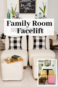 Family Room Facelift