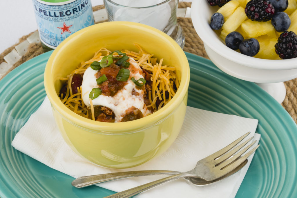 Chili A La O'Hern, super quick, healthy, budget friendly, Make-Ahead meals #makeaheadmeals #chili #healthyrecipes #kippiathome