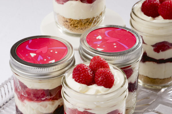 Easy Raspberry Parfait