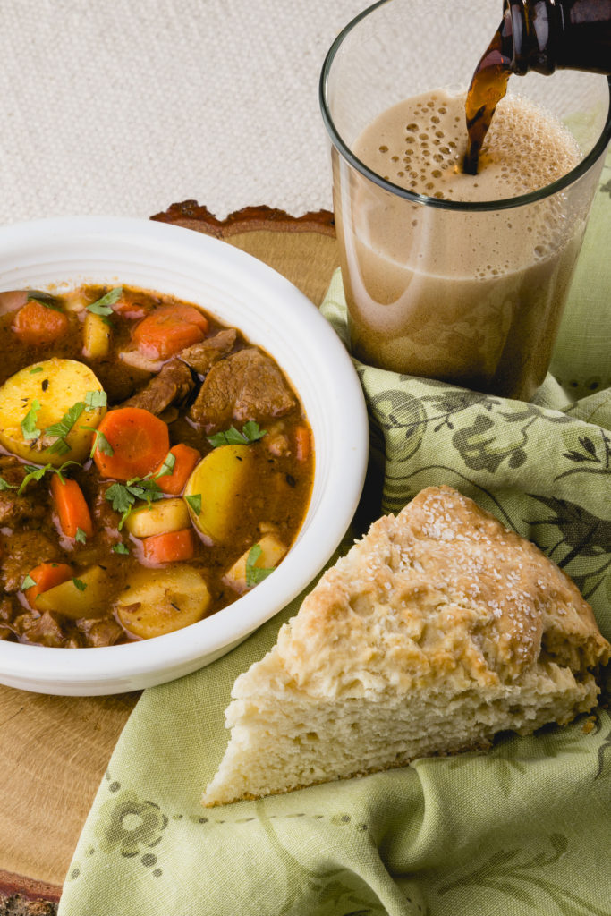 Delicious Irish Meal, St. Patrick's Day Meal, Irish Stew, Lamb Stew #irishstew #lambstew #guinnesstew #stpatricksday #kippiathome