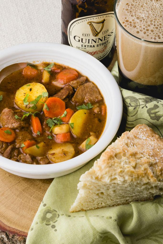 Irish Lamb Stew and soda bread, Irish Soda Bread, Lamb Stew, Irish Stew, #SaintPatricksday #irishstew #kippiathome