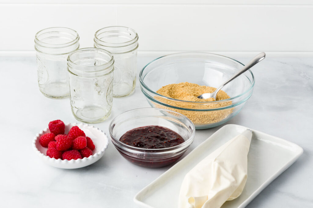 Jars ready to be filled