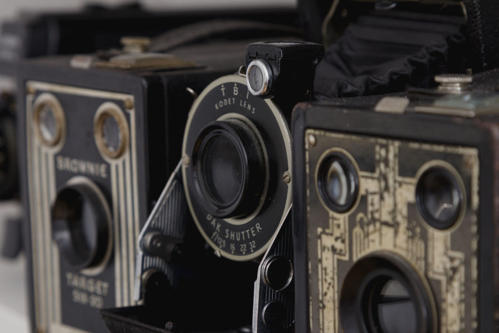 """My favorite cameras, adding items you love to your space makes it """"yours"""""""