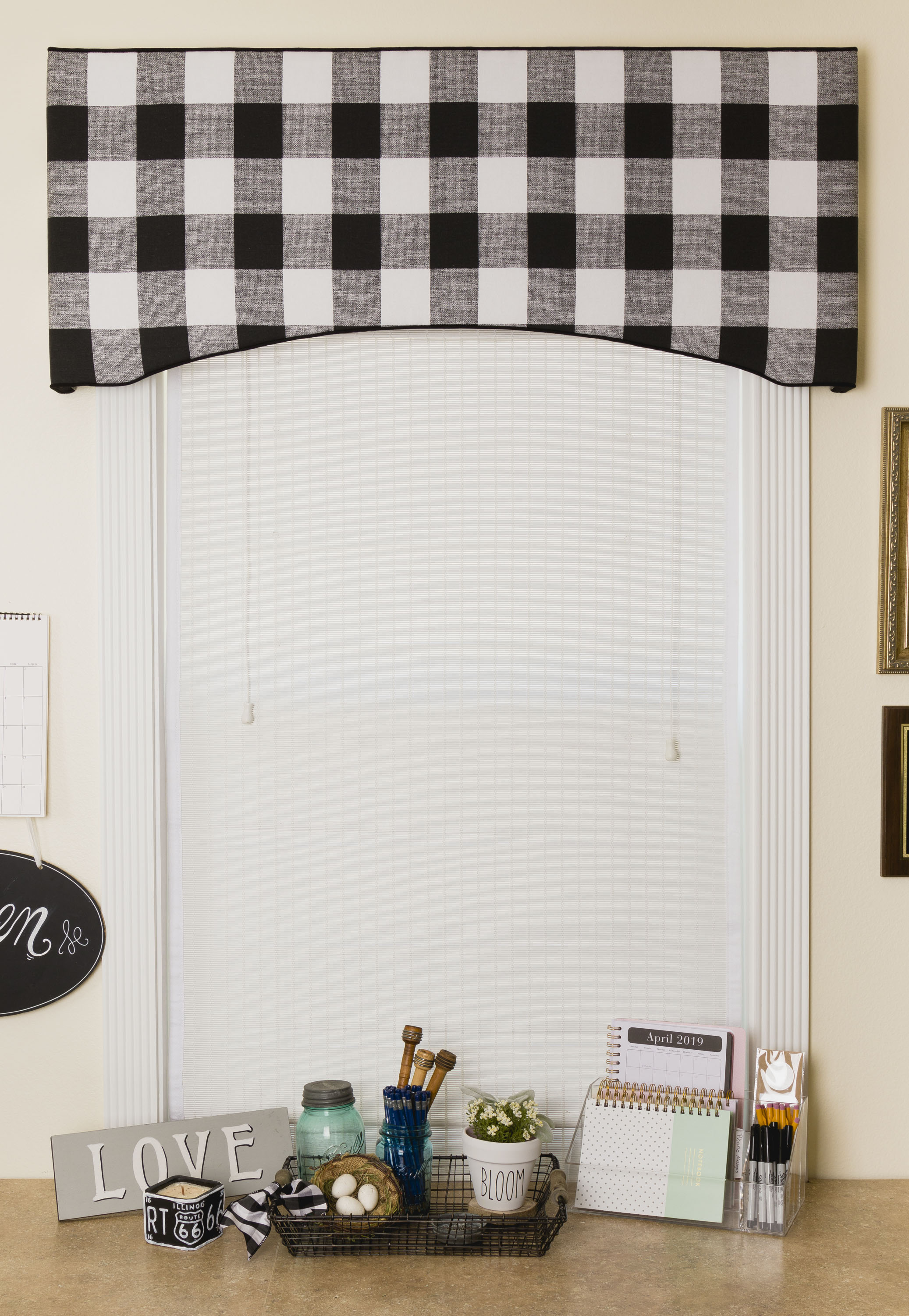 Window Treatment, Valance-Cornice Board Reveal, DIY Window Treatment, Organization