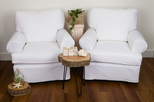 White Twill Slipcovers
