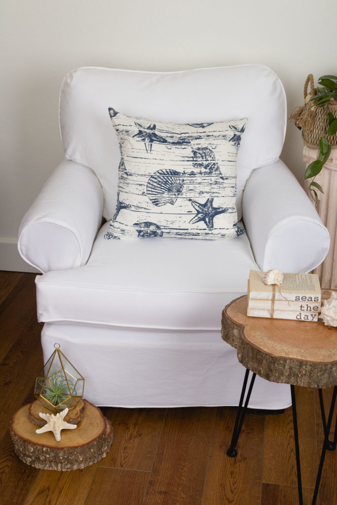 White Twill Slipcovers, light, new, and fresh