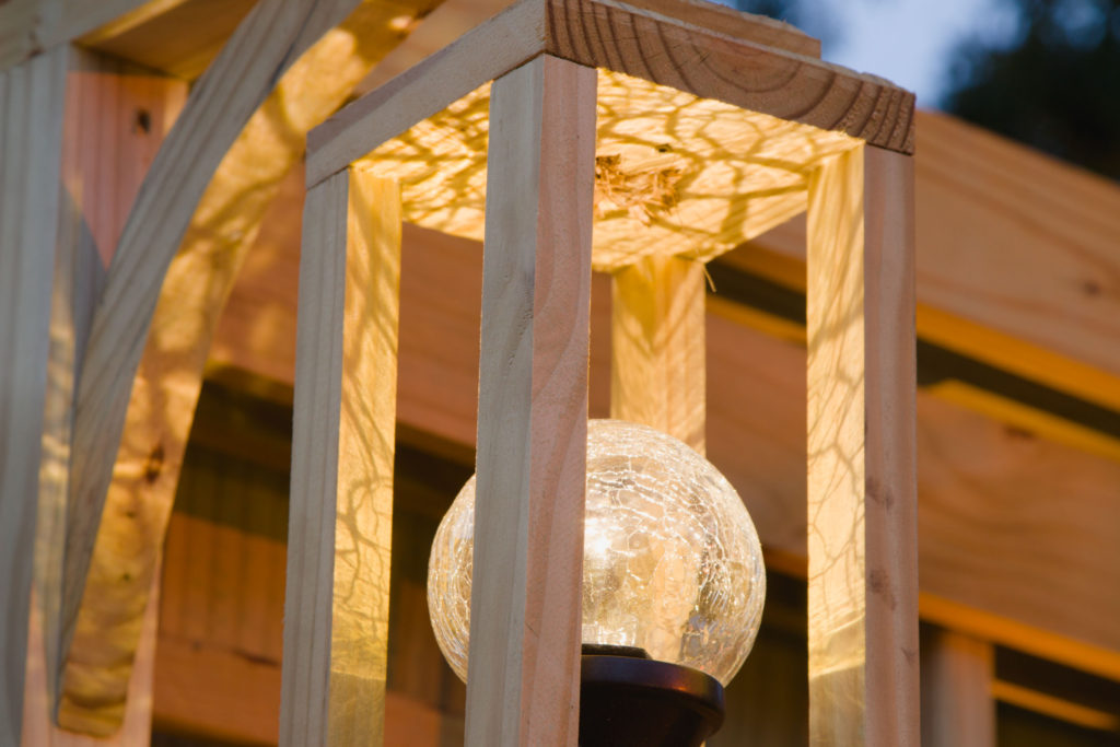 Solar DIY Outdoor Lantern
