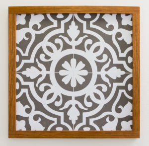 Faux tile art, easy DIY SVG files