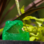 Mr. Frog watering device, haning baskets DIY