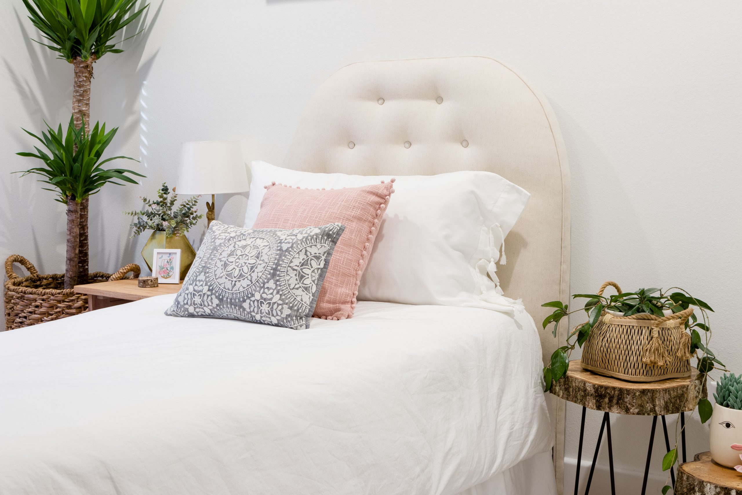 Pillow Shams With Ties And Tassels Instantly Update Your Bedding