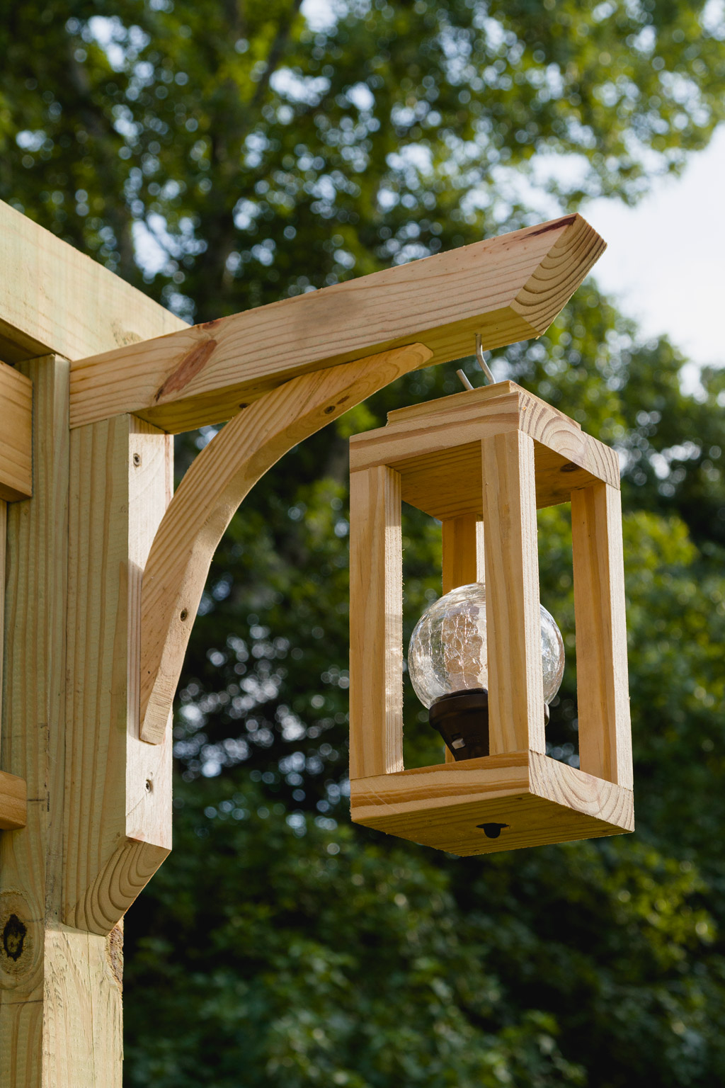 Wooden Lanterns With Solar Lights Learn How To Make One In Just Minutes