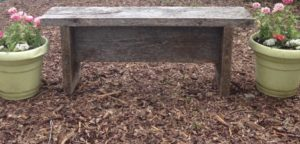 Jenn's Backyard Bench DIY, learn how to make one