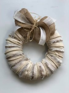 Neutral Rustic Wreath