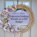 Budget Wreath DIY
