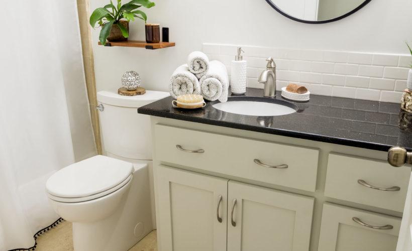 DIY Bathroom Remodel Reveal