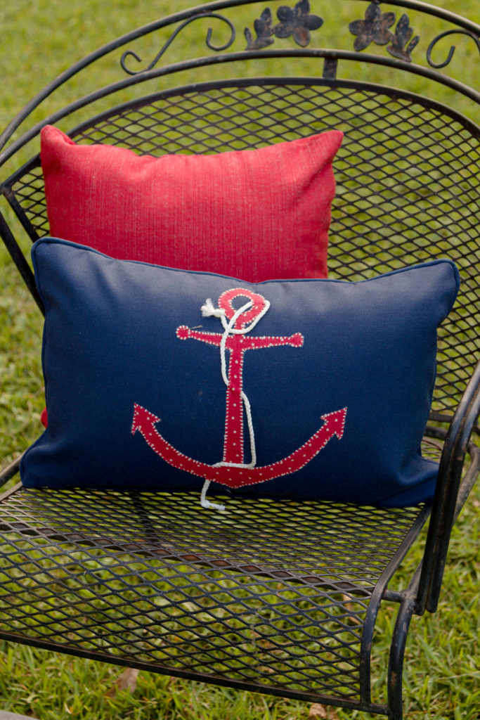Handmade outdoor pillows