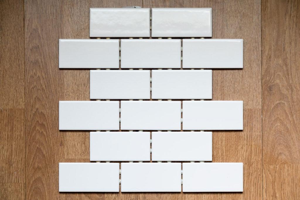 Back-splash tile