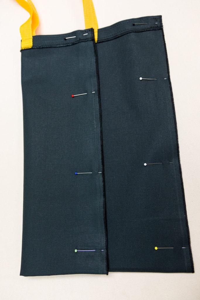 Pin sides