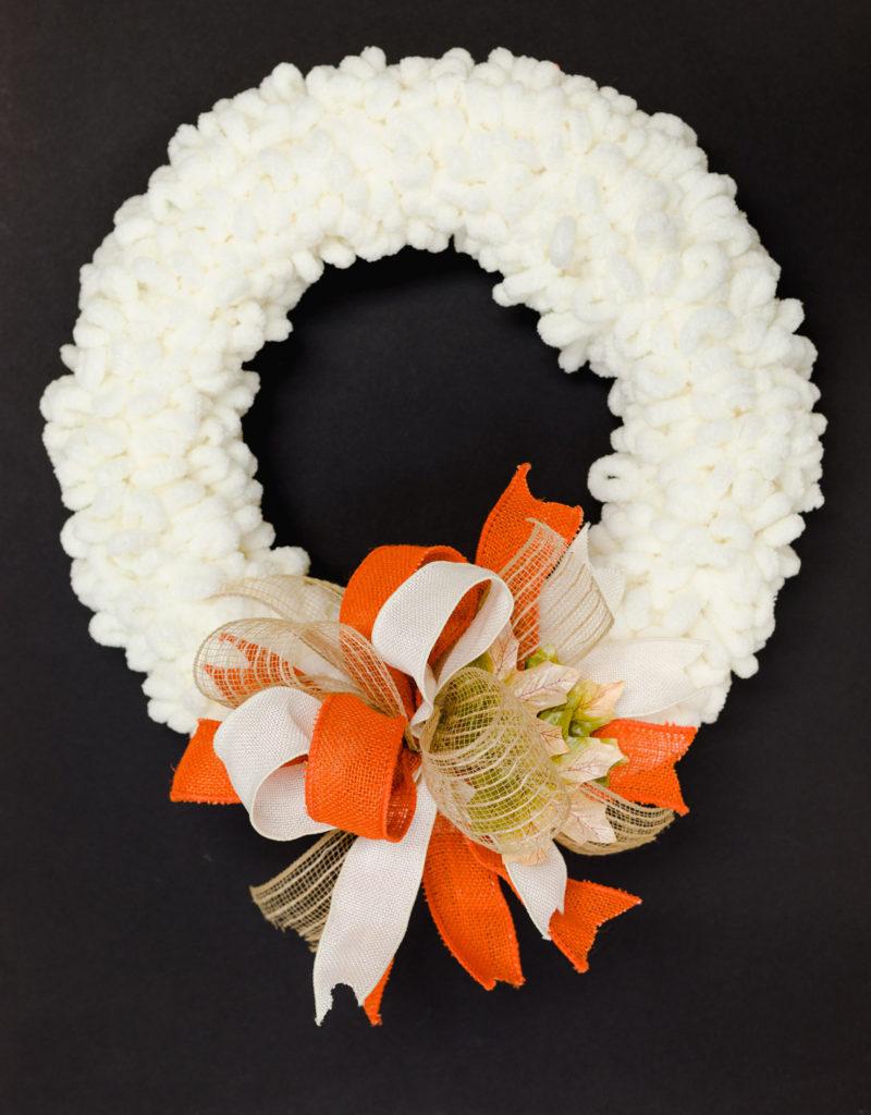Loop Yarn Fall Wreath