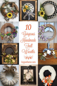 10 Gorgeous Fall Wreath Ideas Roundup