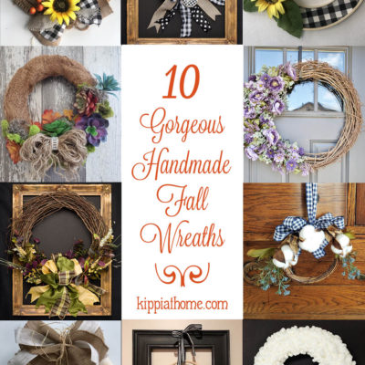 10 Gorgeous Handmade Fall Wreaths