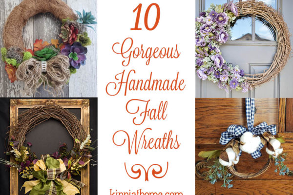 10 Gorgeous Handmade Fall Wreaths