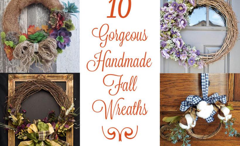 10 Gorgeous Fall Wreath Ideas Roundup