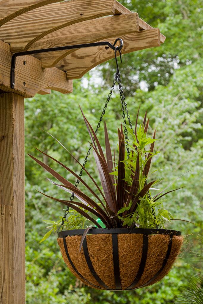 Hanging planter hook