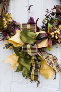 Stunning fall wreath