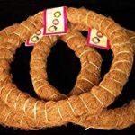 Coco fiber wreath