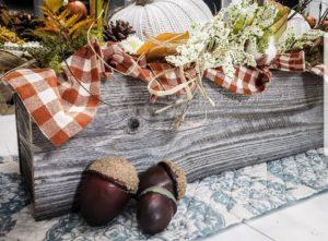 Rustic Farmhouse Centerpiece Box