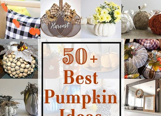 50+ Best Pumpkin Decorating Ideas