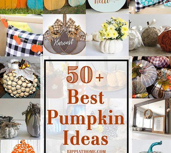 50 plus Pumpkin Ideas